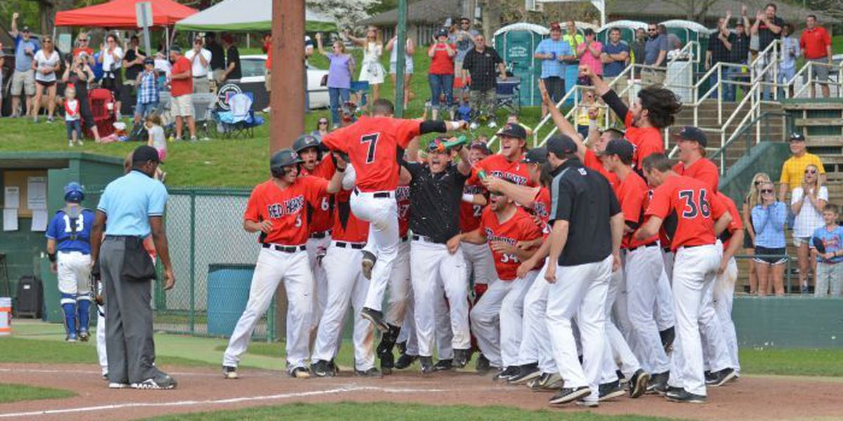 Chris Osborne hits 3 run walk off home run to lift Redhawks over Panthers