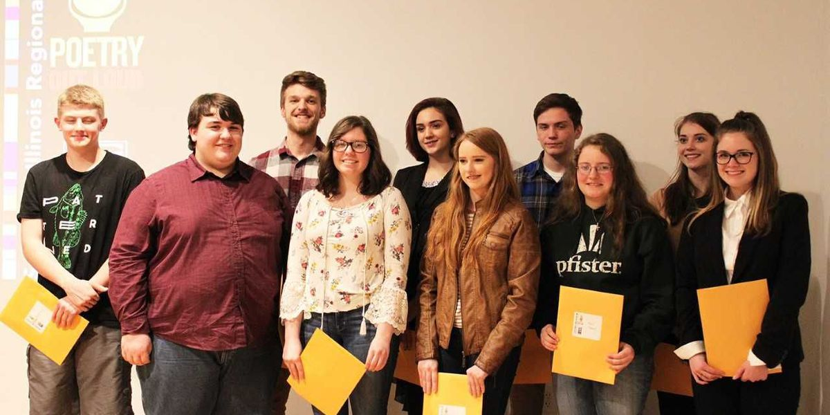 Southern IL Poetry Out Loud Recitation Competition winners announced