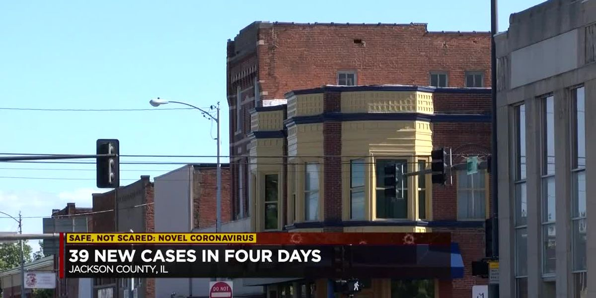 39 new cases in four days in Jackson Co.