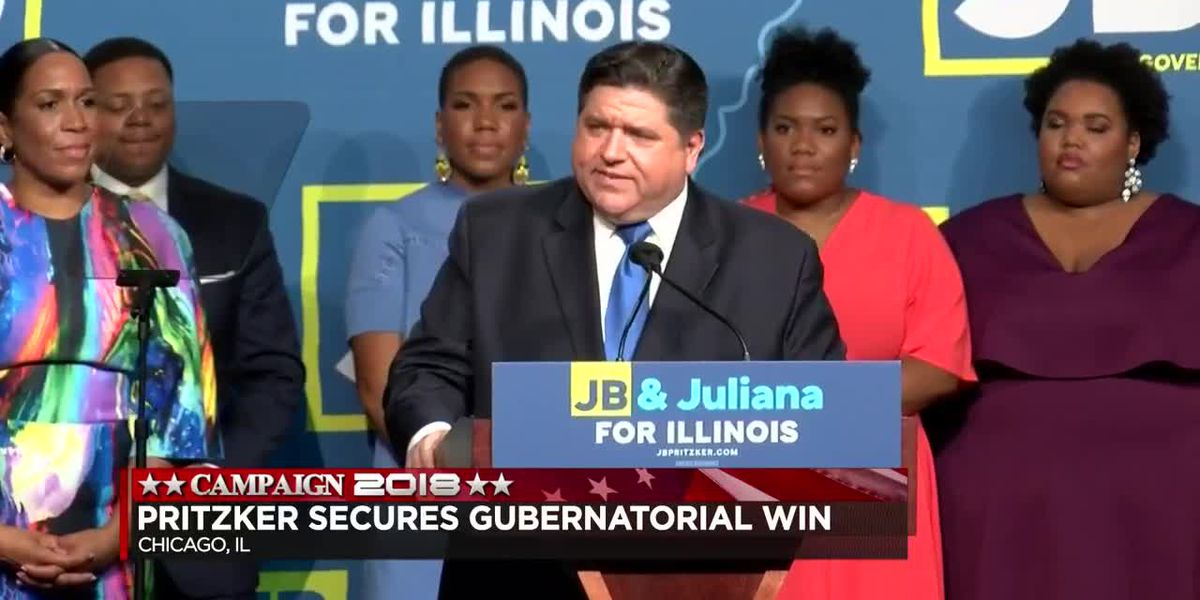 Pritzker defeats Rauner for IL Gov.