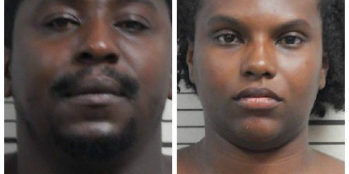 Charleston man and woman arrested, charged with receiving stolen property