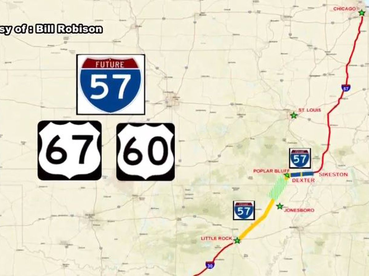 Officials kick off I-57 expansion with press conference