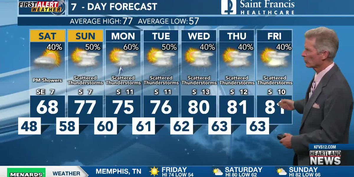 First Alert noon forecast 5/14