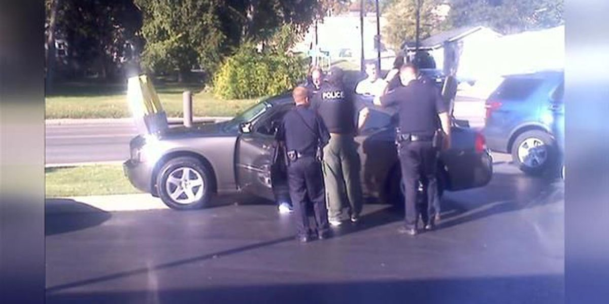 Police chase ends at McDonald's, puts schools on lock down for short time