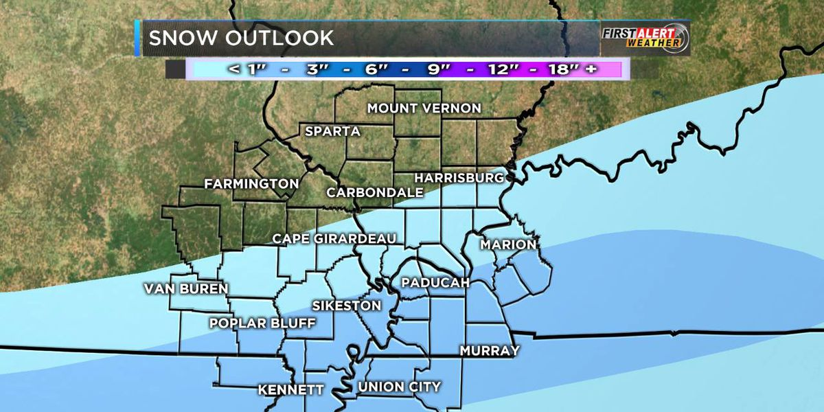 First Alert: Cold, rain and possible dusting of snow tonight