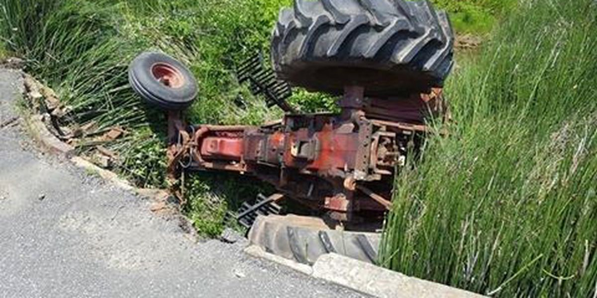 Tractor accident in Fulton Co., Ky sends 1 to hospital