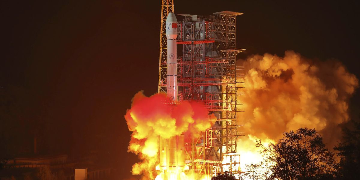 China launches pioneering mission to far side of moon