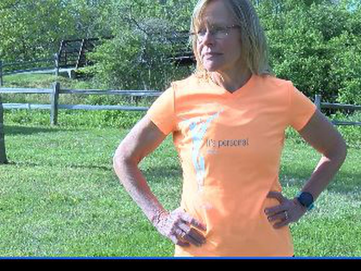 Runner prepares for Muddy River Marathon