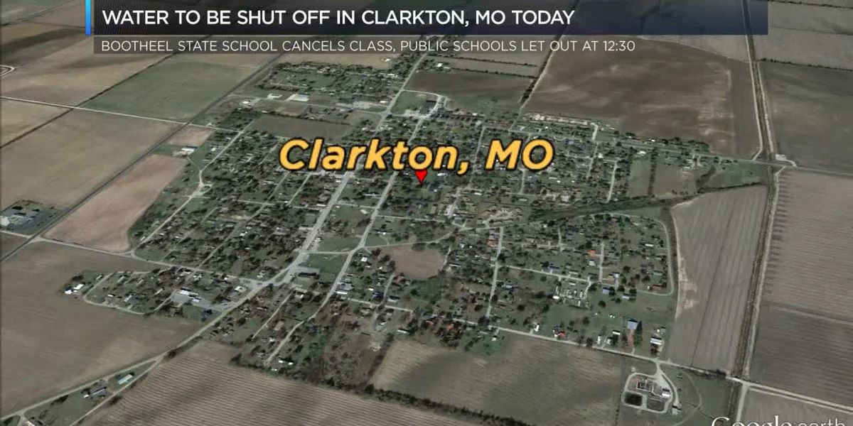 Classes canceled, school closed when water shut off in Clarkton, MO