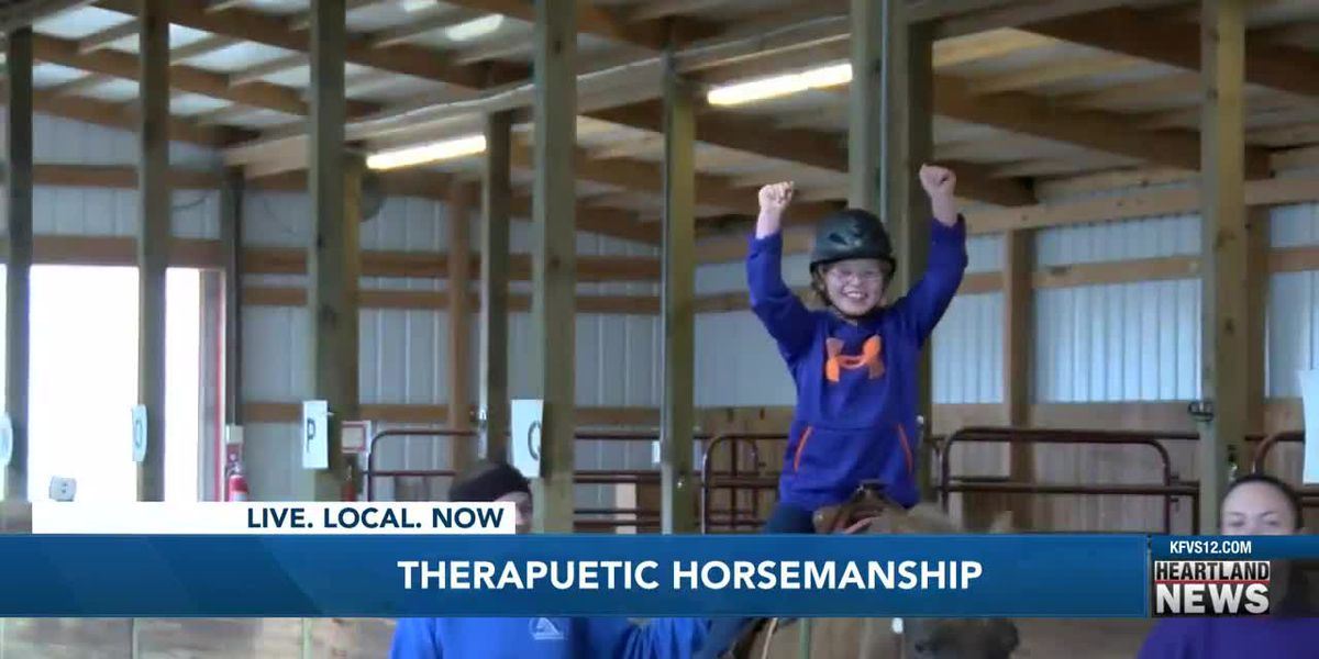 Therapeutic horsemanship program