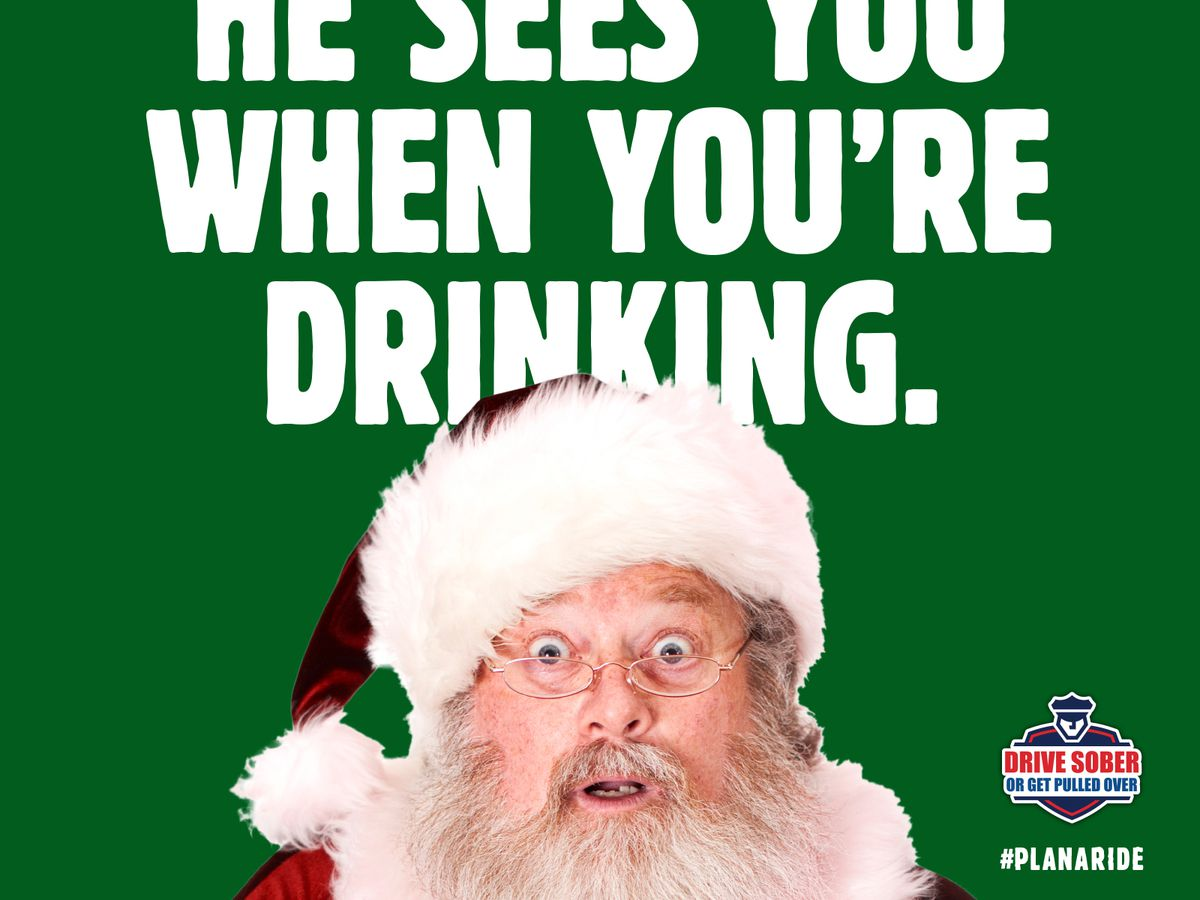 'Drive Sober or Get Pulled Over' this holiday season