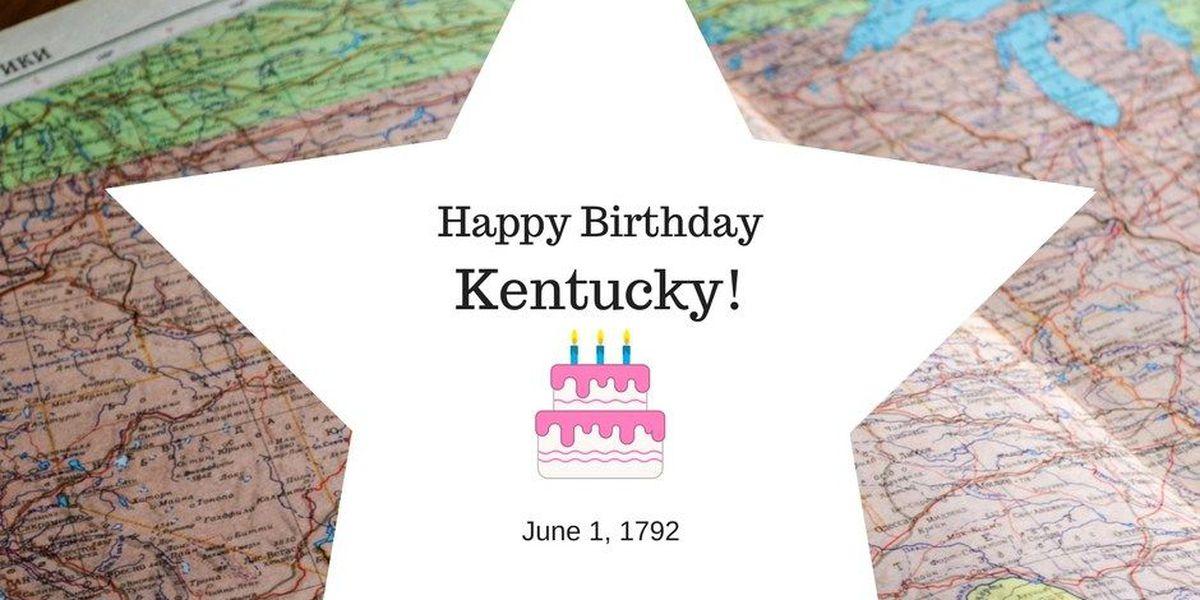 Happy birthday, Kentucky