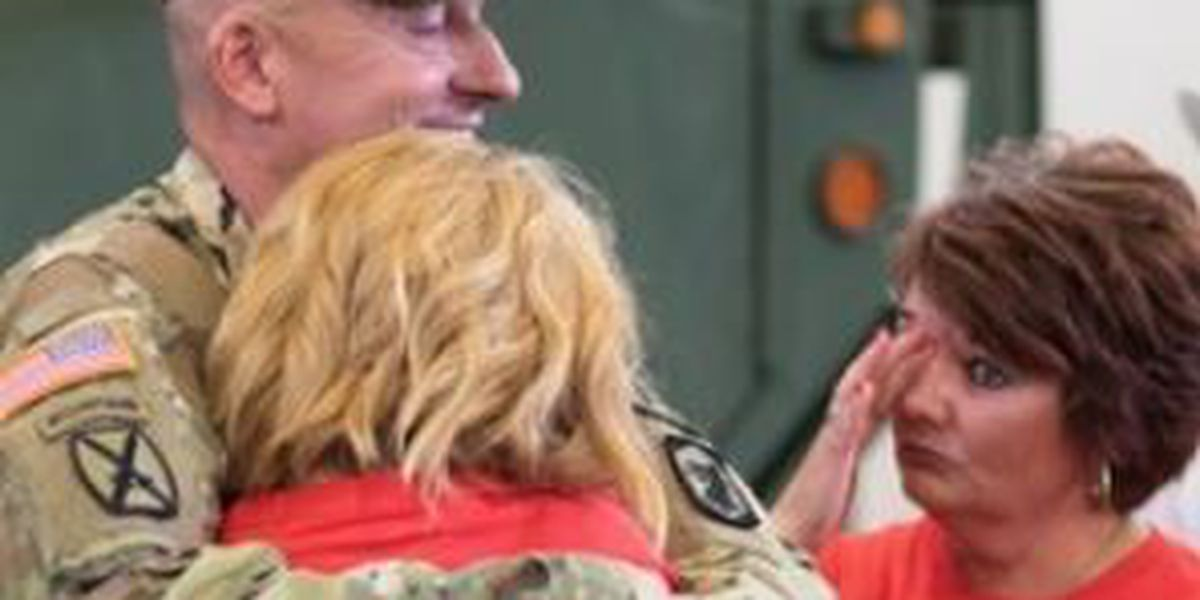 Sparta, IL based National Guard firefighting team returns from Iraq and Syria