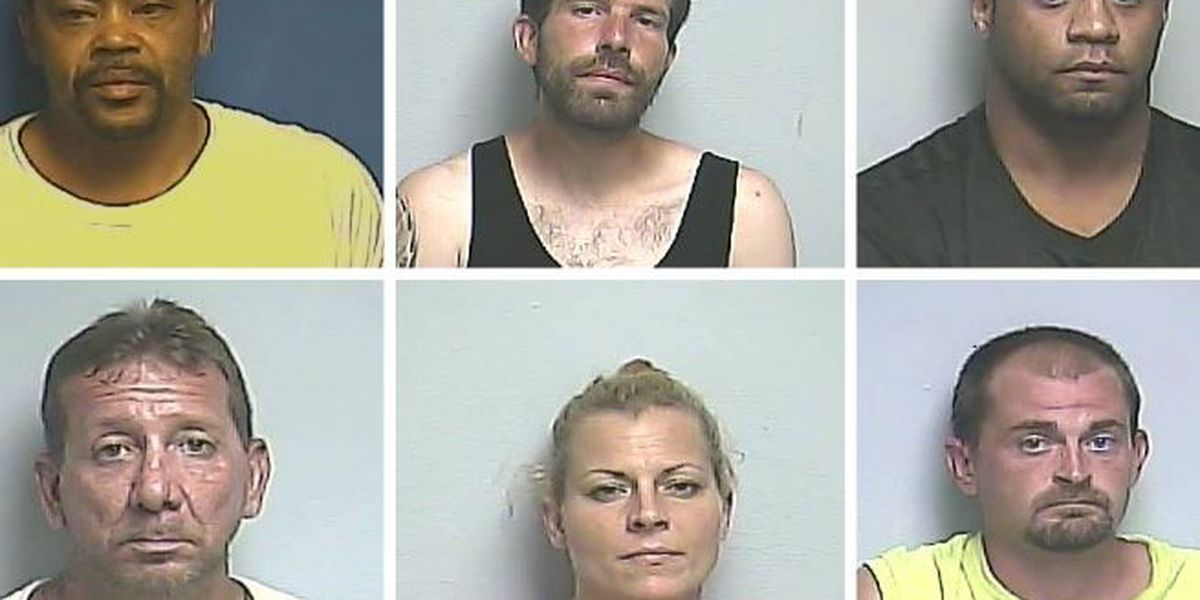 6 arrested for drugs in western KY after investigations