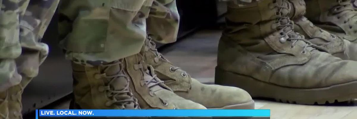 Ill. National Guardsmen deploy from Carbondale