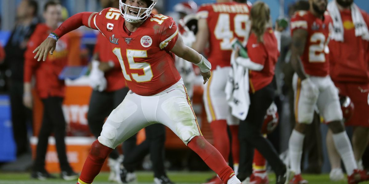 Mahomes leads Chiefs' rally past 49ers in Super Bowl, 31-20