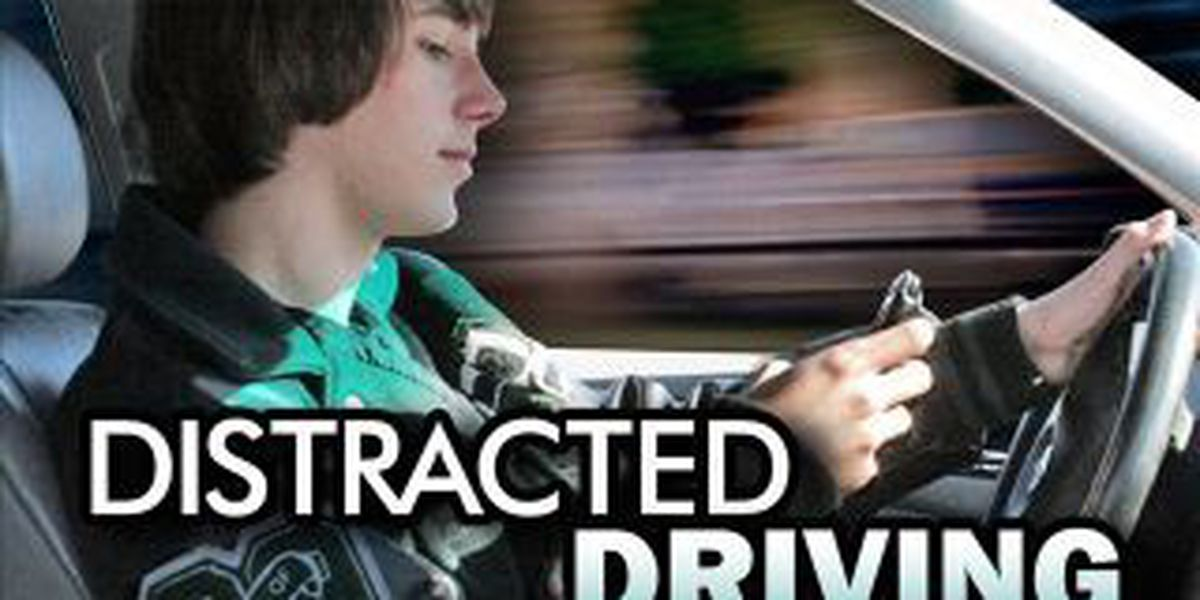 Carbondale police participate in National Distracted Driving Awareness Month