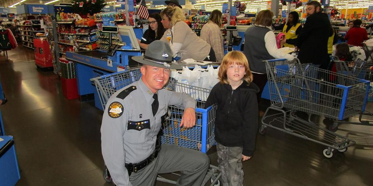 """21 years of """"Shop with a Trooper"""" for KSP post 2"""