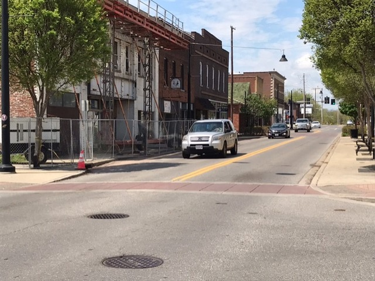 Section of Broadway Street back open in Cape Girardeau