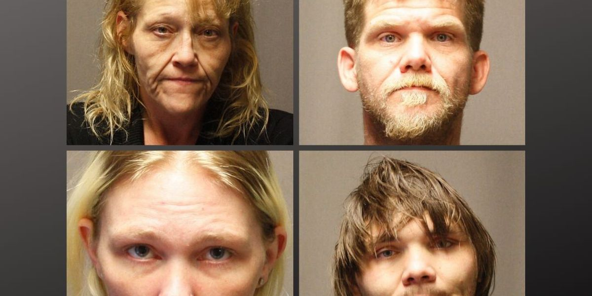 4 arrested on drug, firearm charges in Perry Co., Mo.