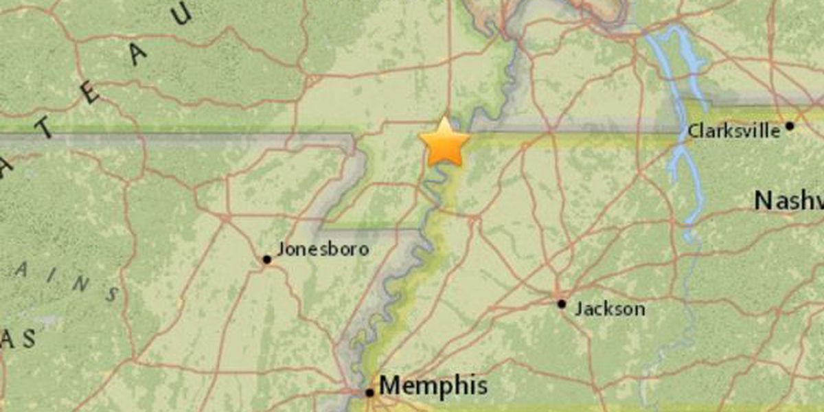 2.9 magnitude earthquake shakes the Missouri Bootheel