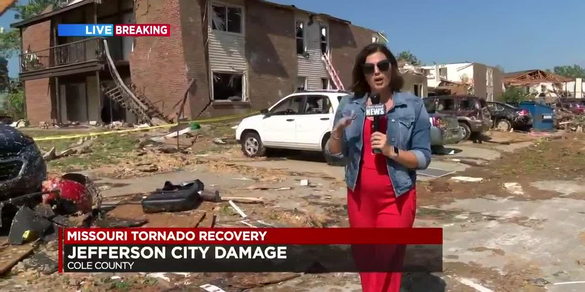 Jefferson City tornado coverage 4pm 5/23