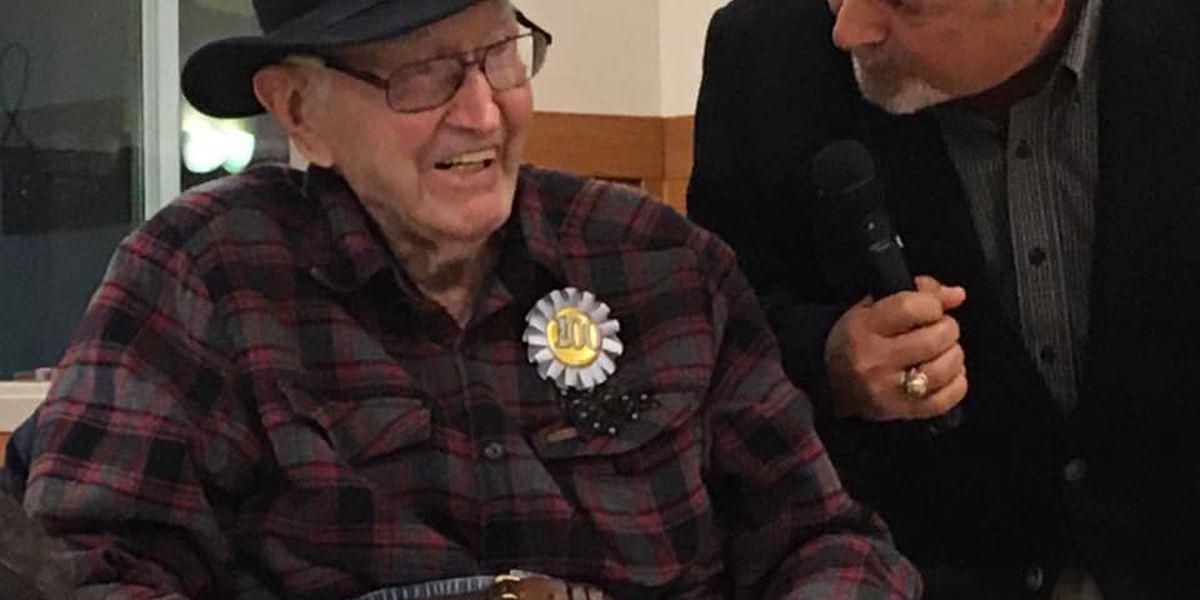 Heartland WWII Army veteran turns 100
