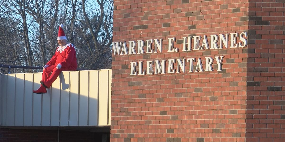 'Principal on the Shelf' brings holiday cheer to students and staff