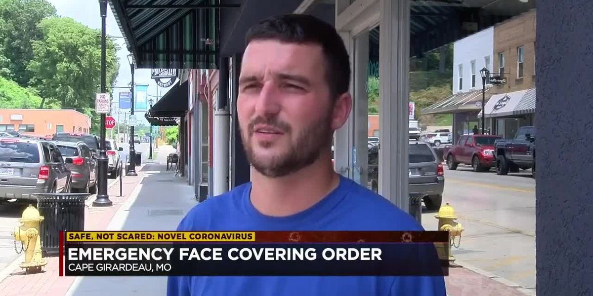 Emergency Face Covering Order to go into effect Monday in Cape Girardeau