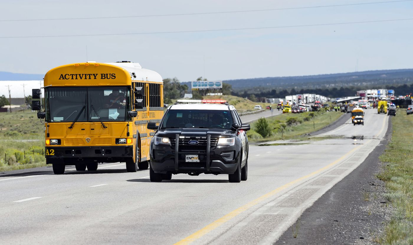 Deadly New Mexico bus crash prompts negligence claims