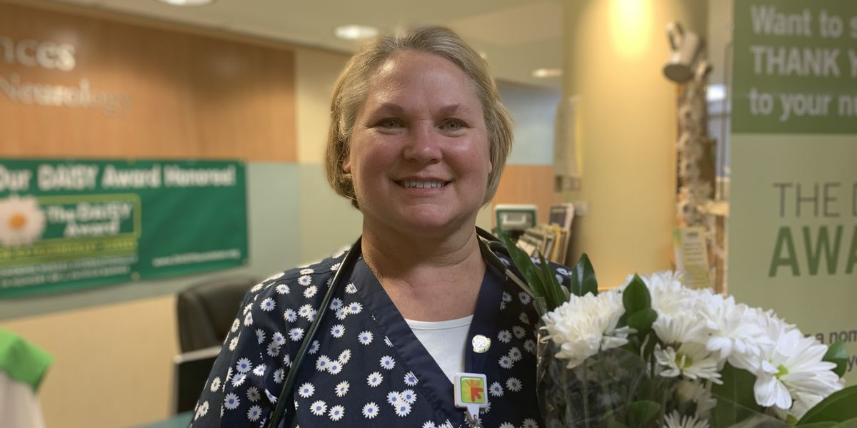 Southeast Hospital nurse received DAISY Award