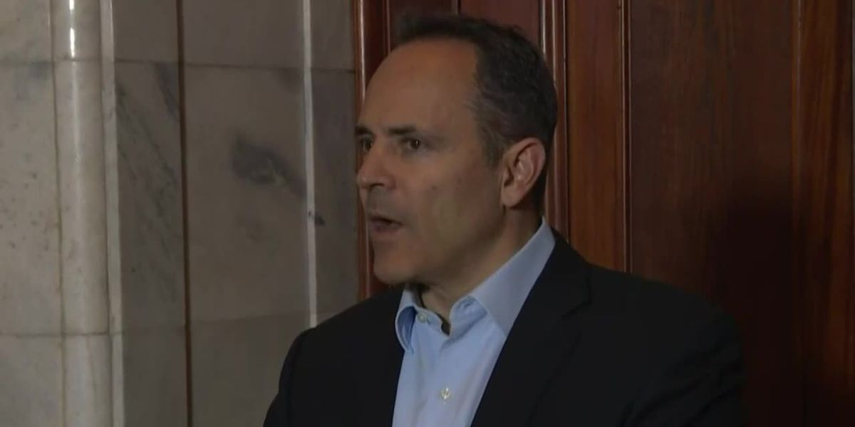 RAW VIDEO: Ky. Governor Bevin announces he concedes gubernatorial election
