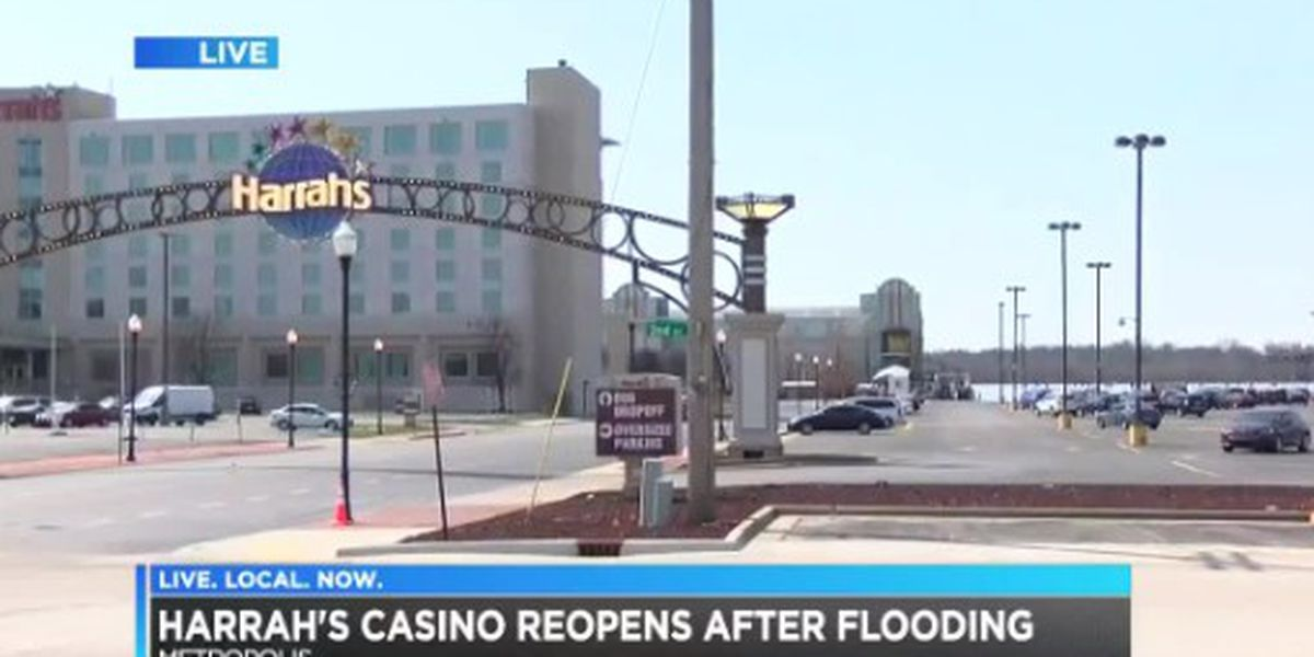 Harrah's Metropolis reopens as floodwaters recede