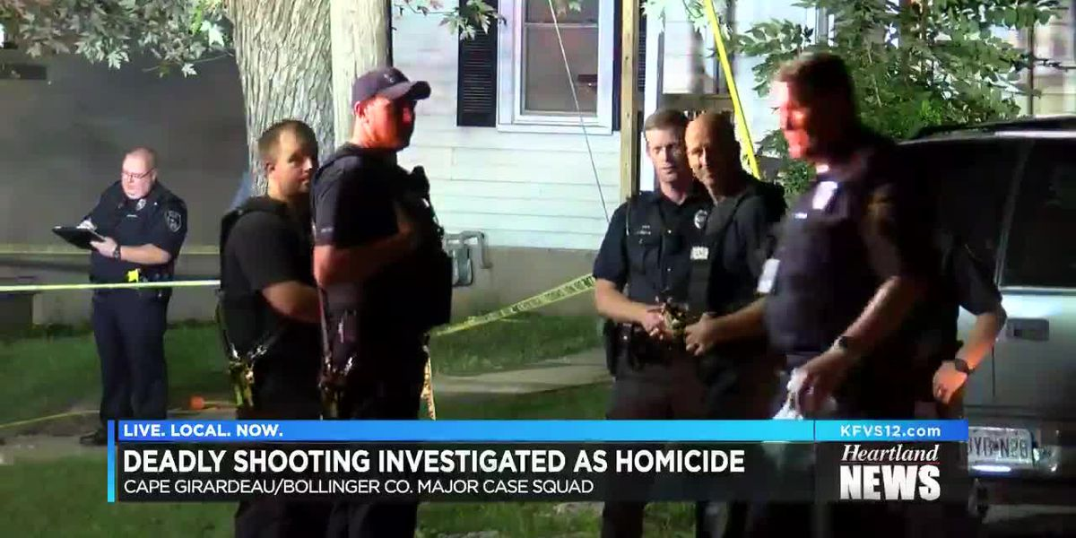 Deadly Cape Girardeau shooting investigated as a homicide