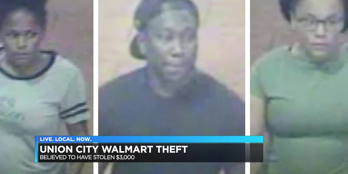 Union City, TN police look for 3 theft suspects