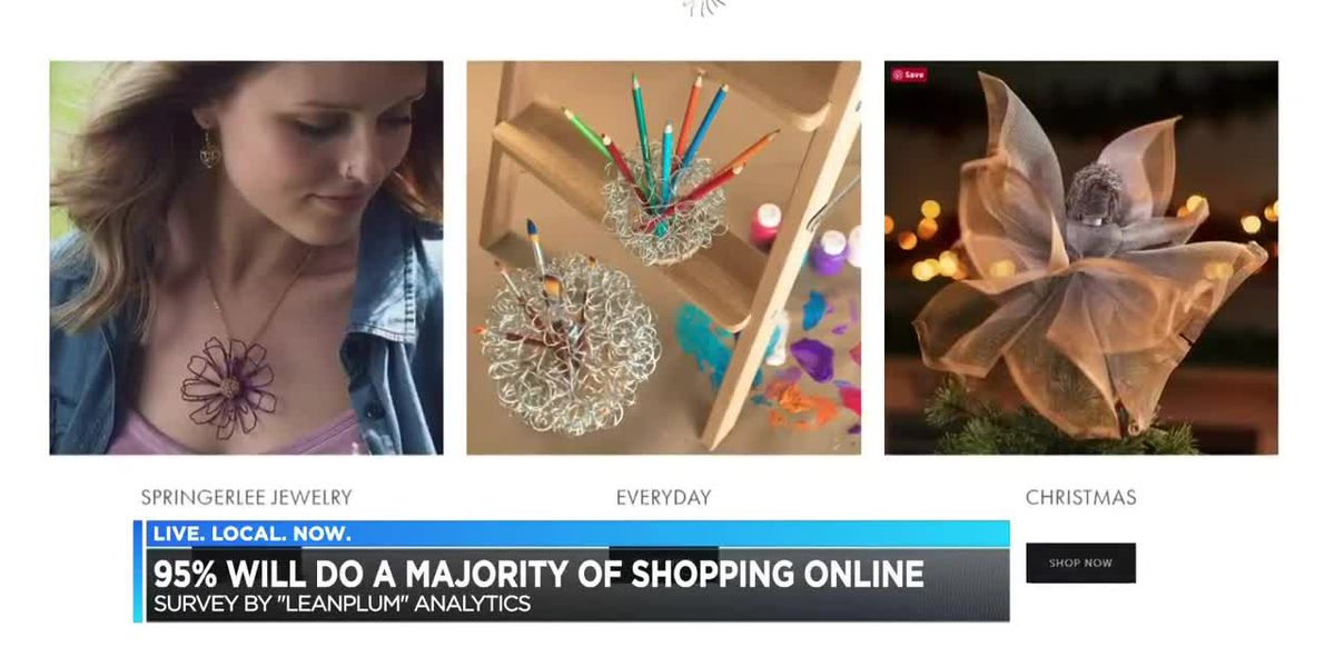 95 percent of Americans are buying gifts online
