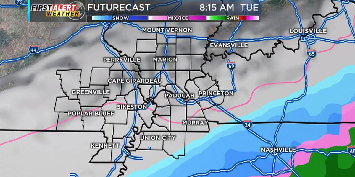 First Alert: Temps are dropping, snow flakes possible