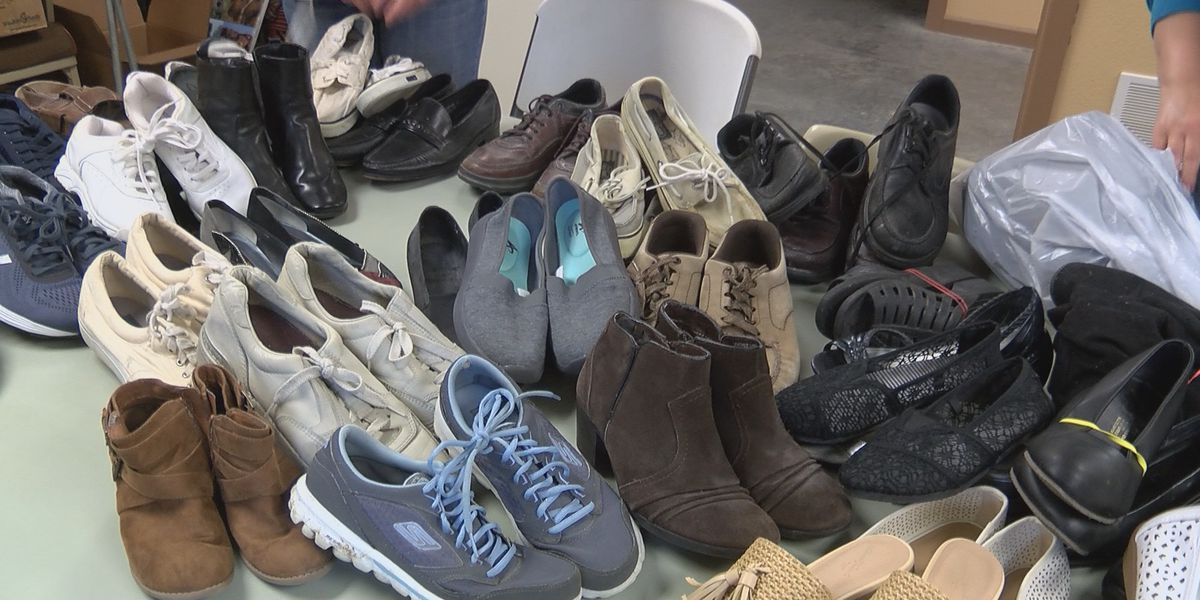 MVTH collects shoes as part of fundraiser