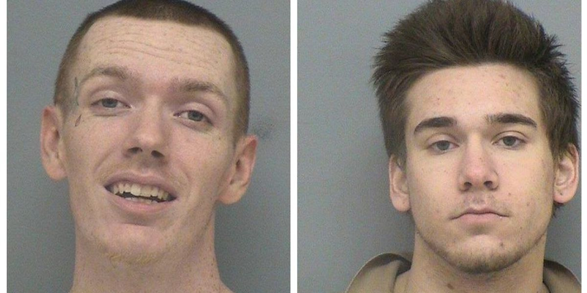 2 men considered armed, dangerous in police custody