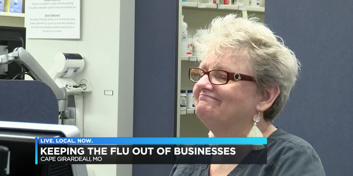 Heartland Pharmacist work to stay healthy during flu season
