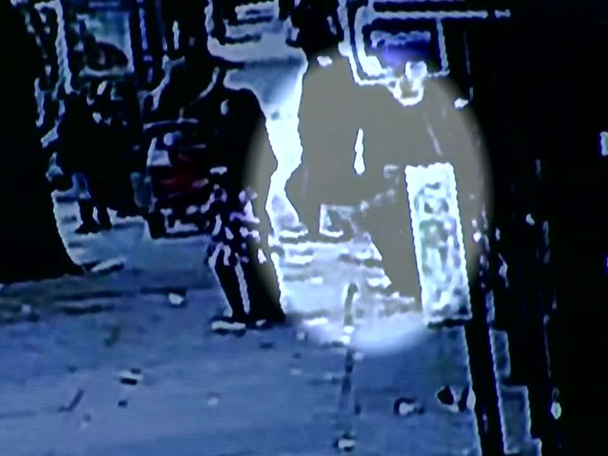 Caught on camera: Man falls through sidewalk at NYC bus stop