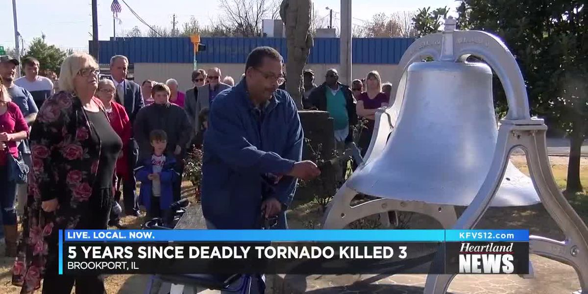 Brookport, IL memorial remembers 3 killed in 2013 tornado