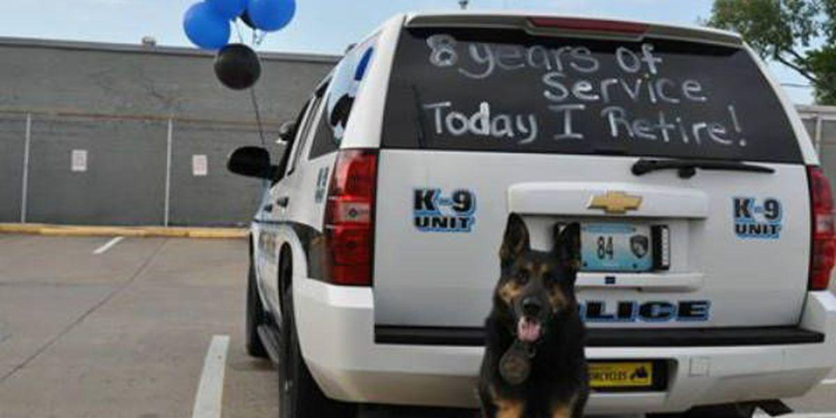 Cape Girardeau police K-9 retires