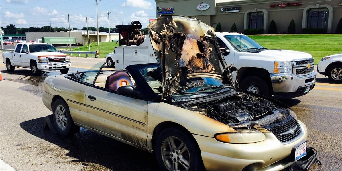 William St. in Cape Girardeau reopened after car fire