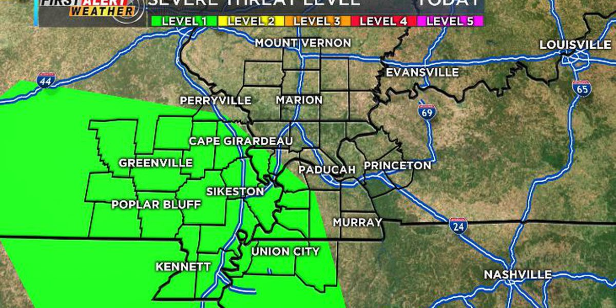 First Alert: Isolated flooding, strong winds and small hail are primary hazards