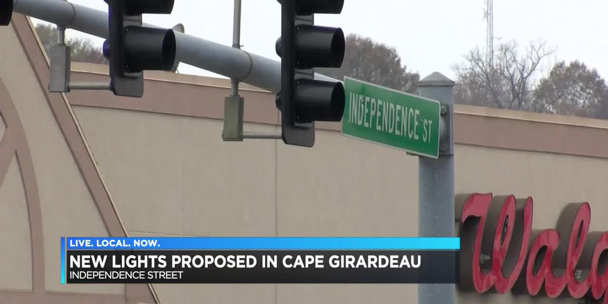 Plans unveiled for new traffic light on Independence Street in Cape Girardeau, MO.