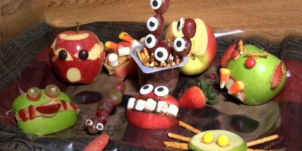 Heartland Cooks - Healthy Halloween Treats
