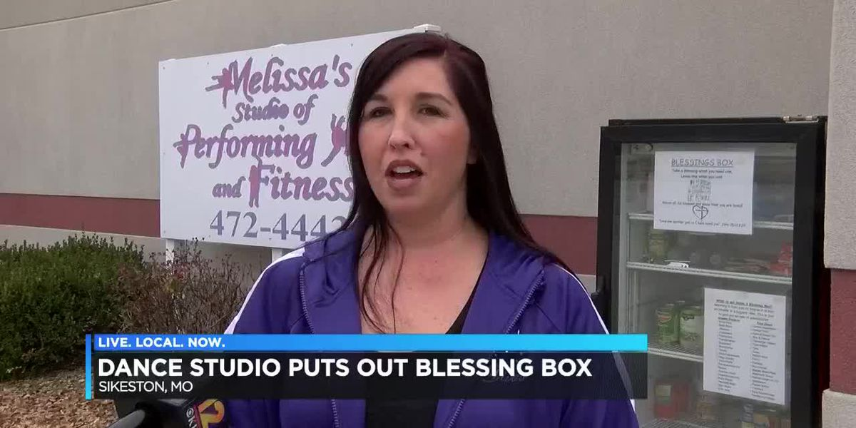 Dance Studio puts out blessing box