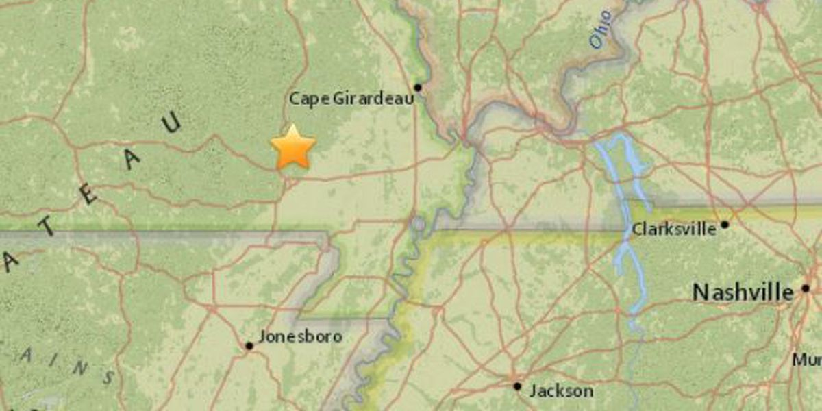 2.4 earthquake near Williamsville, MO