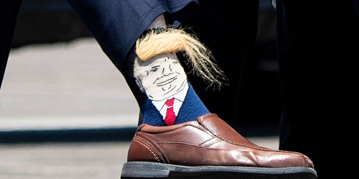#MakeSocksGreatAgain: La. lieutenant governor sports Trump socks during president's visit to Louisiana